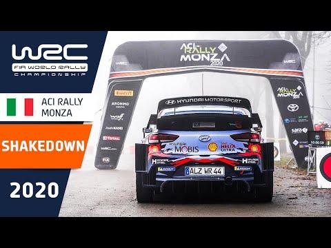 WRC第7戦ラリー・モンツァ シェイクダウンハイライト動画