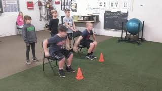 Youth Athletes Jumping Technique