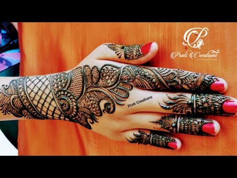 Download Beautiful Arabic Simple Design For Hand Henna Design