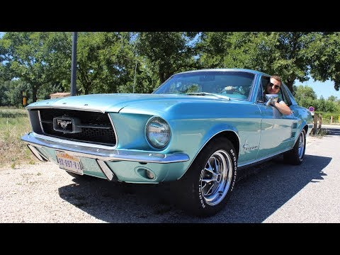 Download Ford Mustang 1967 !!! Ma première expérience avec une Muscle Car ! HD Mp4 3GP Video and MP3