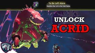 How to unlock ACRID - new Risk of Rain 2 survivor
