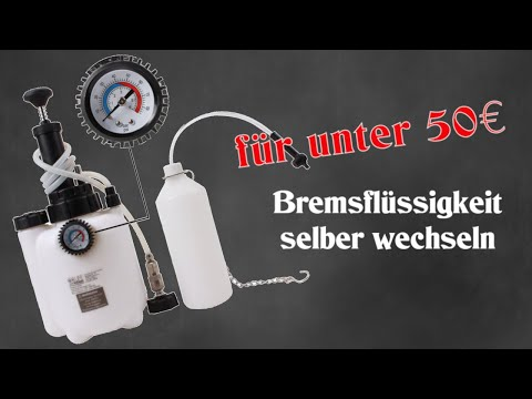DIY Workshop #3 Werkzeugtest Bremsenentlüfter/ Bremsenentlüftungsgerät Bremsflüssigkeit wechseln