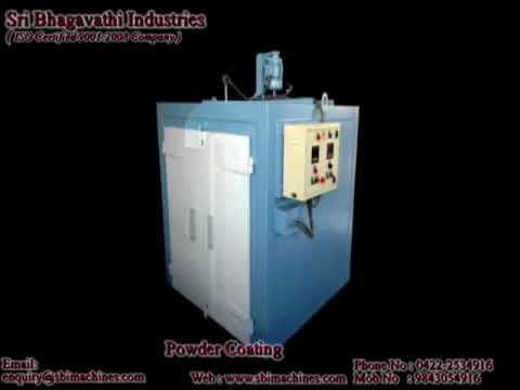 Automatic Powder Coating Booths