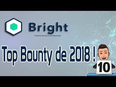 Ganhe dinheiro com Top Bounty da Bright ! 100% CERTO