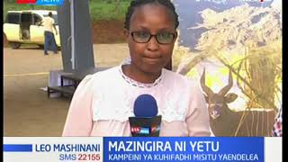 Kampeini ya kuhifadhi misitu yaendelea katika kaunti ya Nyeri