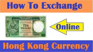 How To Exchange Hong Kong Currency For Indian Online ? Hindi Video