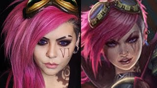 League of Legends Vi Makeup