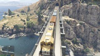 GTA 5 Mod - Dừng Xe Lửa Trong GTA V (How to stop Train)