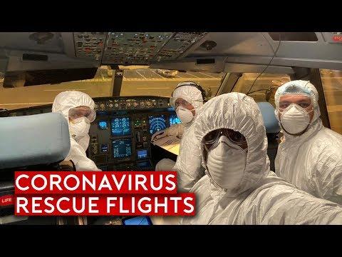 Coronavirus - Rescue Flights and Impact to Aviation