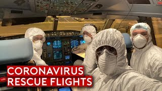 Coronavirus – Rescue Flights and Impact to Aviation