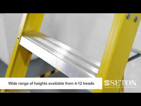 Fibreglass Platform Stepladder