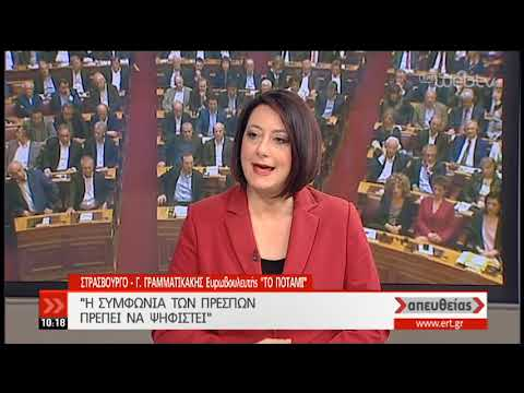 Γραμματικάκης: Η συμφωνία των Πρεσπών πρέπει να ψηφιστεί | 16/01/19 | ΕΡΤ