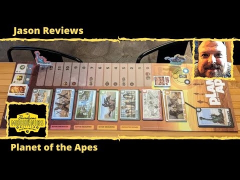 Planet of the Apes Review - with Jason from The Boardgame Mechanics