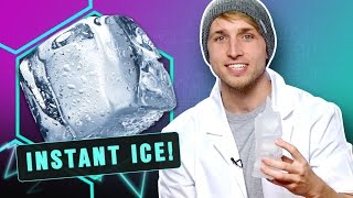CREATING INSTANT ICE! (Smosh Lab)