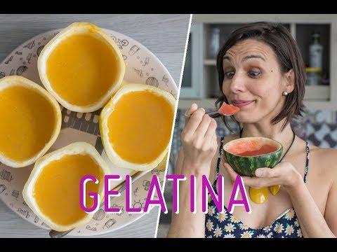 Receita saudável: Gelatina de melancia e maracujá