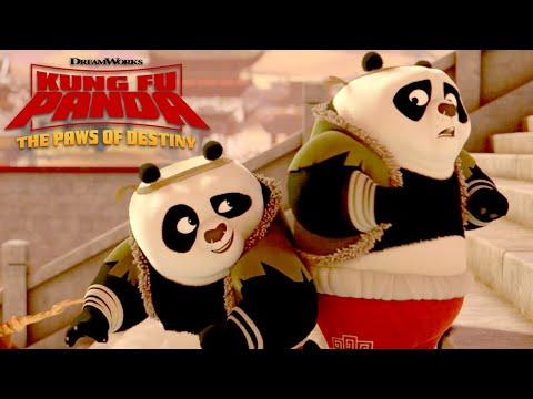 Panda Double Trouble | KUNG FU PANDA: THE PAWS OF DESTINY