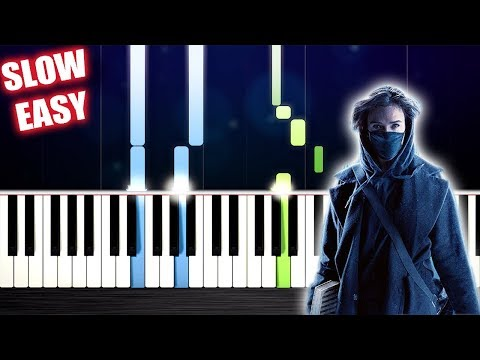 Alan Walker, Sabrina Carpenter & Farruko - On My Way - SLOW EASY Piano Tutorial by PlutaX