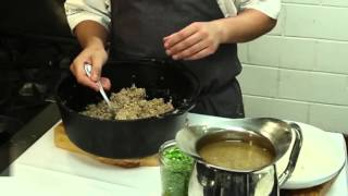 Making Boudin With Chef Nathan Richard Of Kingfish