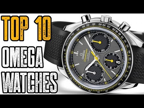Top 10 Best OMEGA Watches 2019!