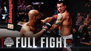 Full Fight | David Branch vs Vinny Magalhaes (Light Heavyweight Title Bout) | WSOF 33, 2016