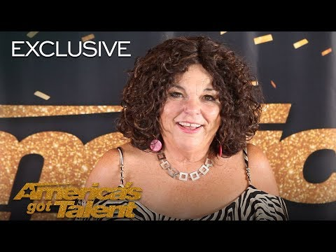 Vicki Barbolak Chats About Going On A Date With Simon Cowell - America's Got Talent 2018