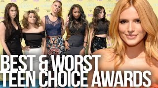 Best & Worst Dressed at 2015 Teen Choice Awards Red Carpet - Dirty Laundry