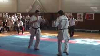 Ашихара карате против киокюшинкай. 2013г