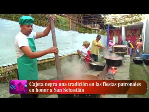 Cajeta negra una tradición en las fiestas patronales en honor a San Sebastián