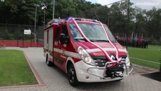 Próba techniczna nowego samochodu OSP Klimkówka