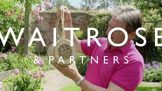 Alan Titchmarsh's Summer Garden | How to Encourage Bees into your Garden | Waitrose