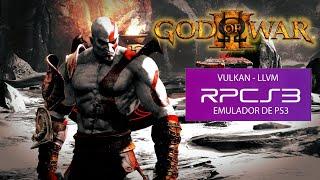 PS3 Emulator RPCS3 God of War 3 ON PC KRATOS VS HELIOS FULL BOSS