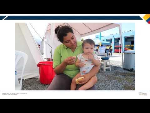 Ecuador enfrenta la crisis migratoria venezolana