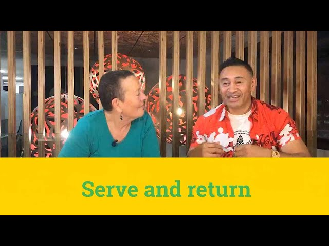 Serve return and resolve
