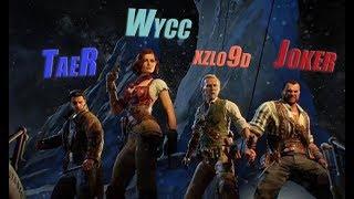 "Wycc и Банда в ""COD: Black ops 4 Zombie Mode""●(Стрим TaeRss)"