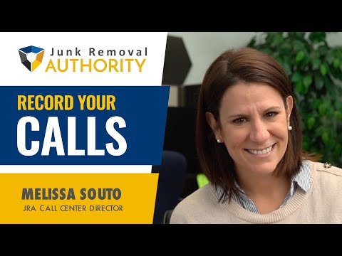 Make Sure Your Phone System Can Record Your Calls for Your Junk Removal Business!