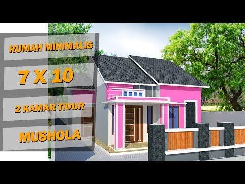 Rumah Minimalis Lantai 2 Nuansa Ungu  desain rumah minimalis nuansa pink desain rumah kansas
