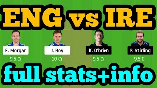 ENG Vs IRE Dream11| ENG Vs IRE | ENG Vs IRE Dream11 Team|