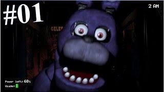 Five Nights At Freddy's [Deutsch  Let's Play] #1   Die Erste Nacht