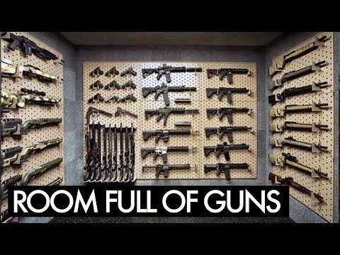 Místnost plná zbraní?