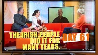 Spud Fit Challenge day 61 - Irish TV!