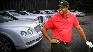 Tiger Woods - Rich Life, Net Worth, Cars Collection, Private Jet & Yatch 2018