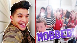 GOT MOBBED IN LONDON! (BIG MISTAKE)
