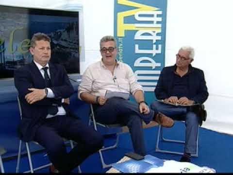 VELE 2018 : DALLO STAND DI IMPERIA TV MARCO SAVINI - MARCO PARASCANDOLO