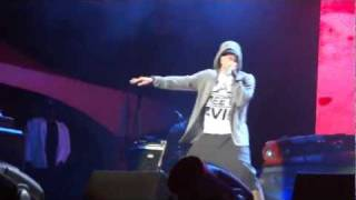 EMINEM 2011- Won't Back Down + 3AM + Square Dance - LIVE HD 1080p