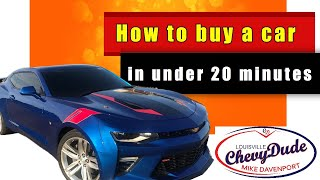 How to buy a car in under 20 minutes from ANY dealer