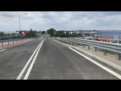 Wideo1: Wiadukt na Wilkowickiej w Lesznie otwarty