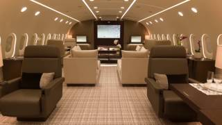 Inside The First Ever DreamJet BBJ 787 - Kestrel Aviation Management -VVIP  Private Tour by CEO