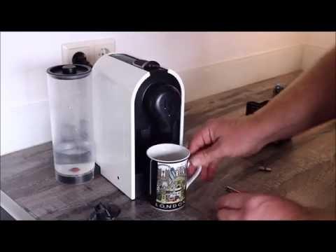 Nespresso Krups XN250: Reparatur Auslaufduese / Repair of outlet nozzle