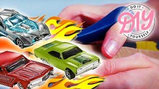 Hot Wheels D.I.Y.   Parkhaus selber basteln   Hot Wheels Autos   MeinSpielzeugmarkt