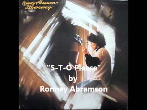 S-T-O Please - Ronney Abramson (True North Records)  1977 Canada